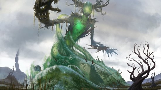 Muldrotha the gravetide dominaria mtg art