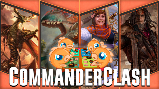 Image for Commander Clash S4 Episode 27: Brawl! (Depala vs. Gishath vs. Nicol Bolas vs. Tezzeret)