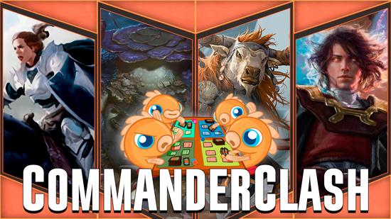 Image for Commander Clash S4 Episode 28: Dominaria (Aryel vs. Firesong vs. Jodah vs. Slimefoot)