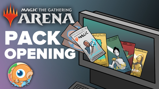 Magic arena pack opening  1