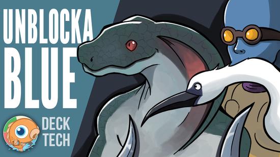 Image for Instant Deck Tech: UnblockaBlue (Standard)