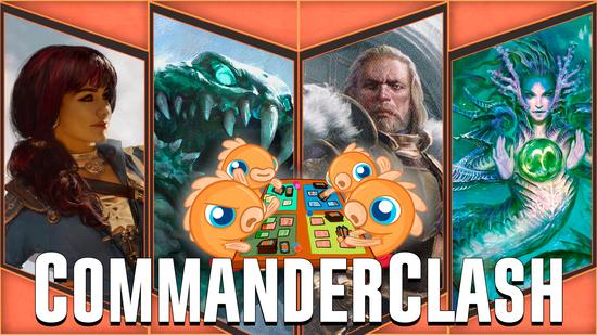 Image for Commander Clash S4 Episode 31: Season Finale! (Baird vs. Jhoira vs. Tatyova vs. Yargle)