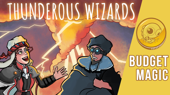 Image for Budget Magic: $98 (57 tix) Thunderous Wizards (Modern)