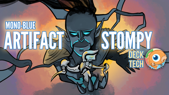 Image for Instant Deck Tech: Mono-Blue Artifact Stompy (Modern)