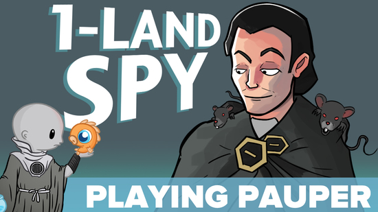 1 land spy playing pauper