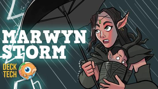 Image for Instant Deck Tech: Mono-Green Marwyn Storm (Standard)