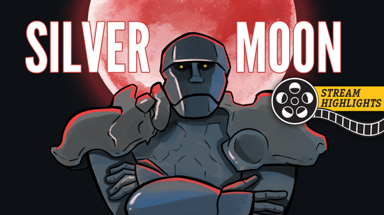 Silver moon stream highlights