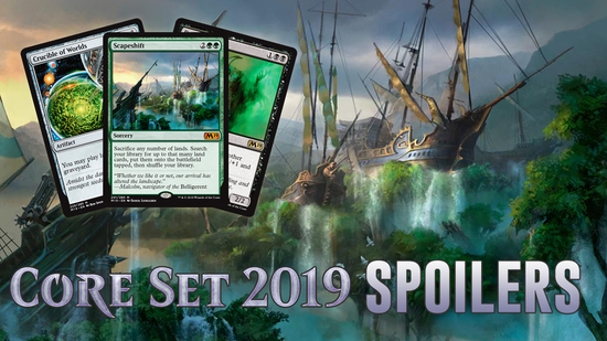 Core set 2019 daily spoilers   reprints