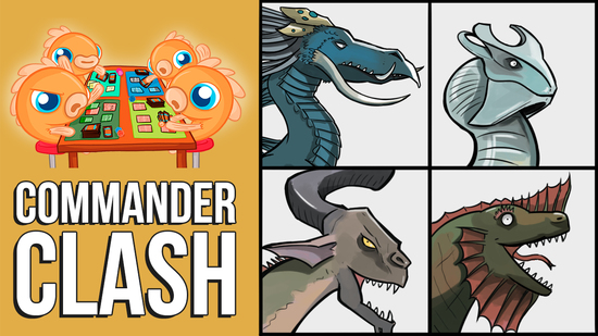 Image for Commander Clash S5 Episode 2: M19 Elder Dragon Highlander! (Arcades vs. Chromium vs. Nicol Bolas vs. Vaevictis)