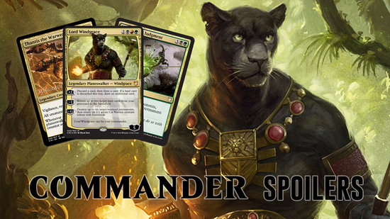 Image for Commander 2018 Spoilers — July 24, 2018 | Lord Windgrace and Friends