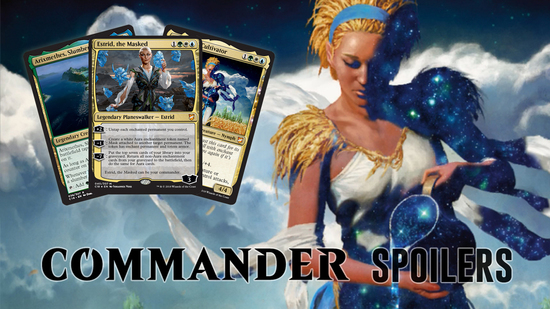Image for Commander 2018 Spoilers — July 25, 2018 | Estrid, the Masked and Friends