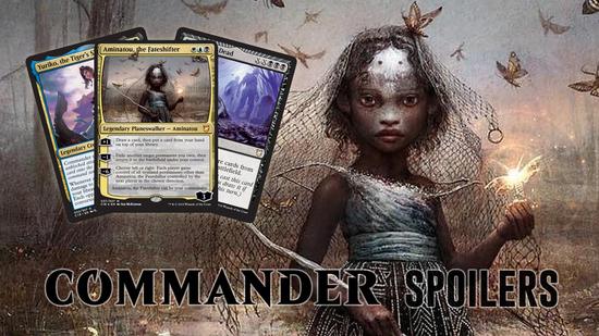 Image for Commander 2018 Spoilers — July 26, 2018 | Aminatou, Black Miracle, Commander Ninjutsu