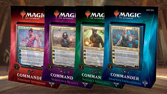 Commander 2018 Decklists