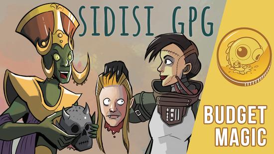 Image for Budget Magic: $94 (20 tix) Sidisi GPG (Modern)