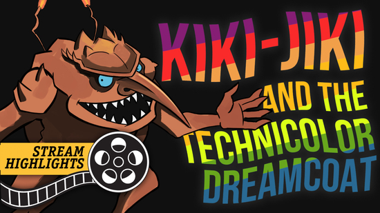 Kiki jiki technicolor dreamcoat stream highlights
