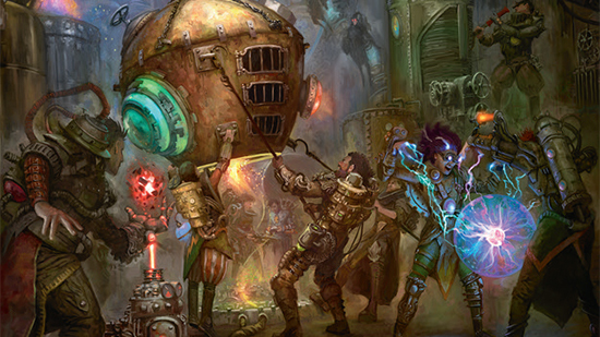 Experimental frenzy guids of ravnica exclusive preview