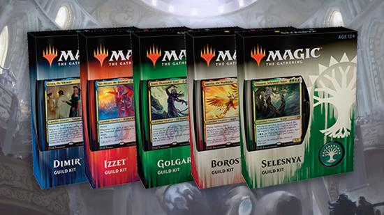 Guilds of ravnica guild kit decklists