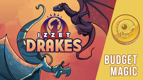Budget Magic: $83 (33 tix) Izzet Drakes (Standard)