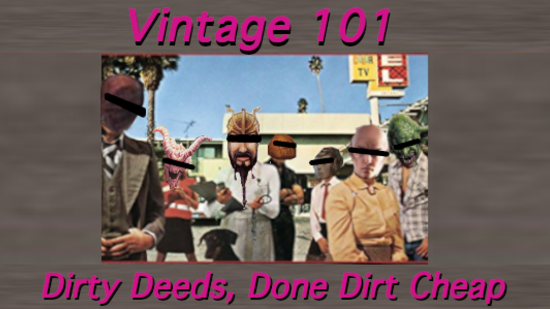 Image for Vintage 101: Dirty Deeds, Done Dirt Cheap