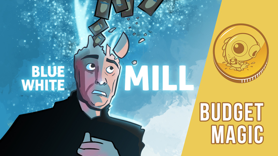 Image for Budget Magic: $96 (23 tix) Blue-White Mill (Standard)