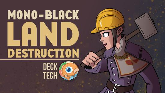 Image for Instant Deck Tech: Mono-Black Land Destruction (Pauper)
