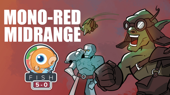 Image for Fish Five-0: Mono-Red Midrange