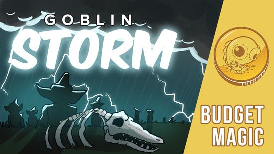 Image for Budget Magic: $57 (8 tix) Goblin Storm (Modern, Magic Online)