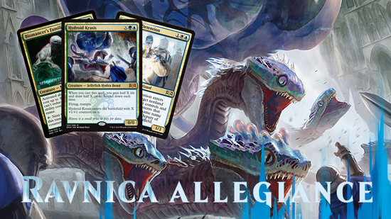 Image for Ravnica Allegiance Spoilers — January 2, 2019 | Hydroid Krasis, Sphinx of Foresight