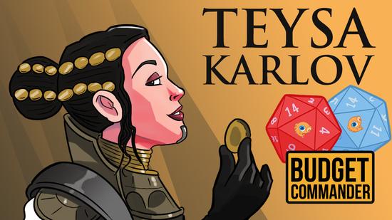 Budget commander teysa