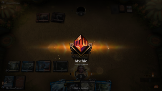 Image for My Grind to Mythic (Standard, Magic Arena)