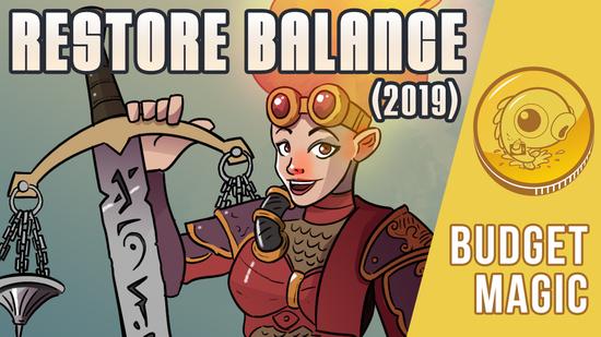 Image for Budget Magic: $116 (14 tix) Restore Balance 2019 (Modern, Magic Online)