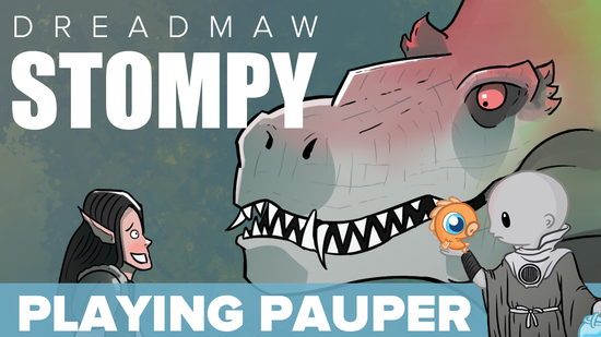 Playing pauper dreadmaw stompy