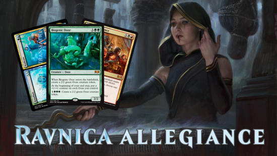 Image for Ravnica Allegiance Spoilers — January 10, 2019 | Biogenic Ooze, Captive Audience