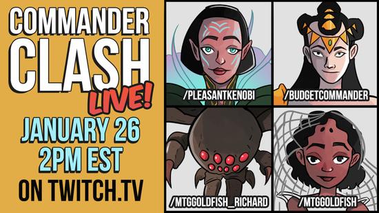 Commander clash live2