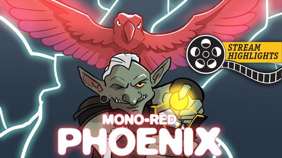 Mono red phoenix
