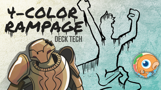 Image for Instant Deck Tech: Four-Color Rampage (Standard)