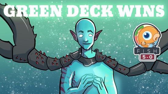 Green deck wins