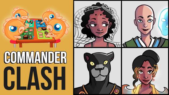 Image for Commander Clash S6 E3: Commander 2018! (Aminatou vs. Estrid vs. Saheeli vs. Windgrace)