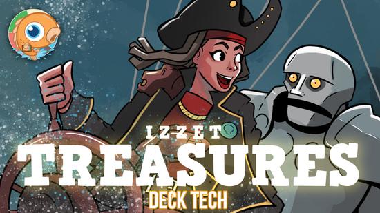 Image for Instant Deck Tech: Izzet Treasures (Standard)