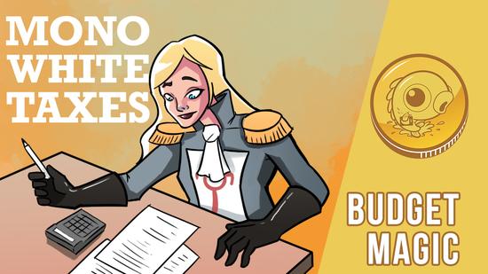 Image for Budget Magic: $93 (13 tix) Mono-White Taxes (Modern, Magic Online)