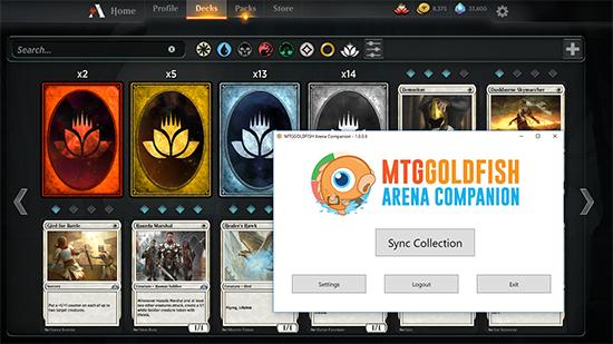 Introducing MTG Arena Deck Sync
