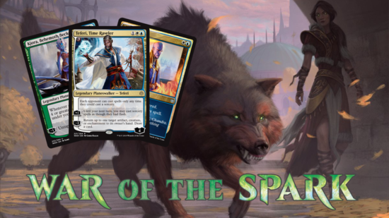 Image for War of the Spark Spoilers — April 1, 2019 | Three-Mana Teferi and Uncounterable Negate