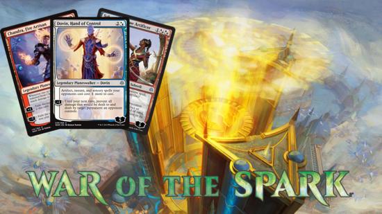 Image for War of the Spark Spoilers — April 9, 2019 | Chandra, Saheeli, Dovin