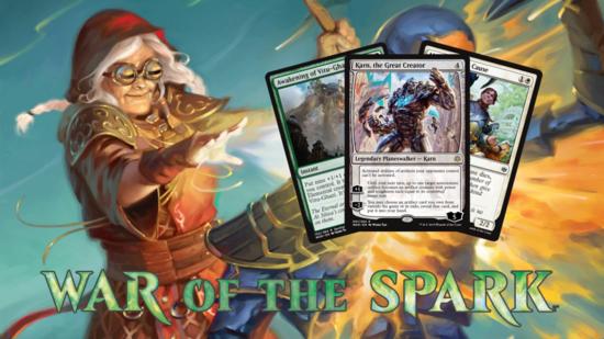Image for War of the Spark Spoilers — April 10, 2019 | Karn and Vitu-Ghazi
