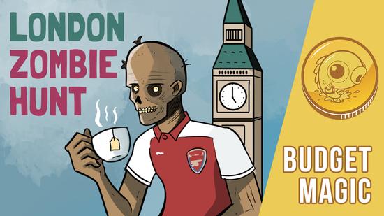 Image for Budget Magic: $99 (14 tix) London Zombie Hunt (Modern, Magic Online)