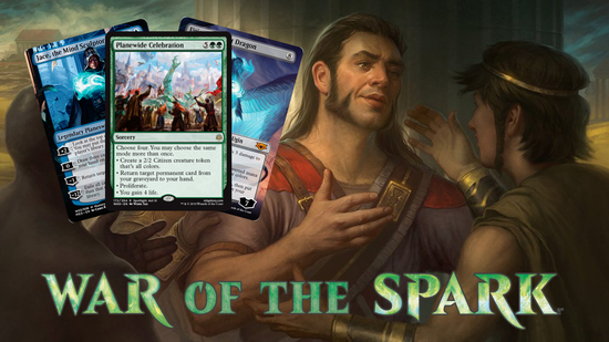 Image for War of the Spark Spoilers — April 19, 2019 | Complete Set