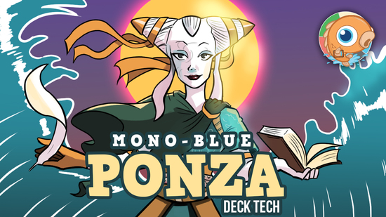 Image for Instant Deck Tech: Mono-Blue Ponza (Modern)