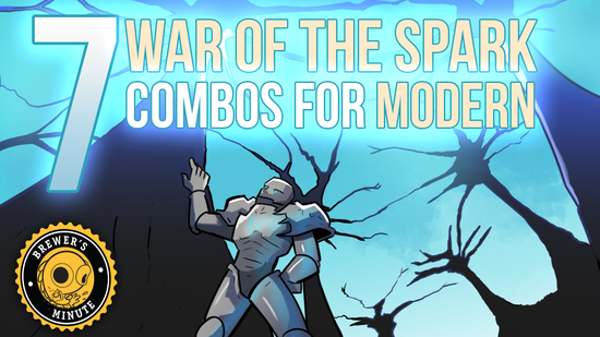 Image for Brewer's Minute: Seven Modern Combos from War of the Spark