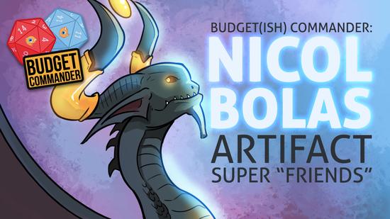 Nicol bolas superfriends