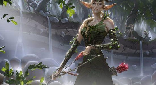 Image for Budget Magic: $75 (22 tix) Standard Green Black Elves